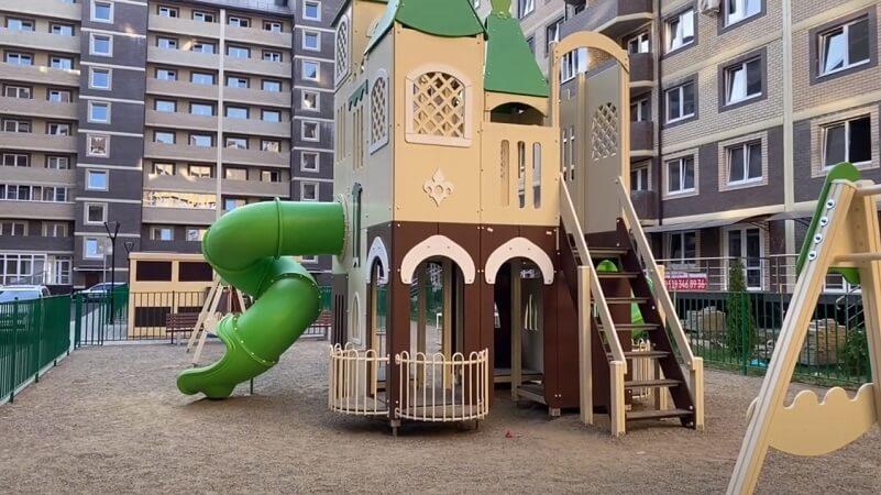 Детская площадка ЖК Дыхание
