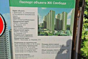 Новостройки от застройщика ССК в Краснодаре