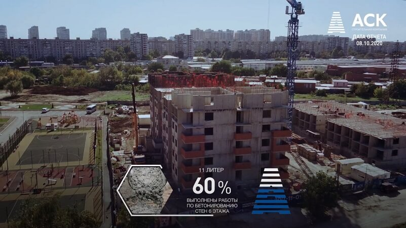 Ход строительства ЖК Спортивный парк Краснодар