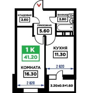 выбор однокомнатной квартиры в новостройке