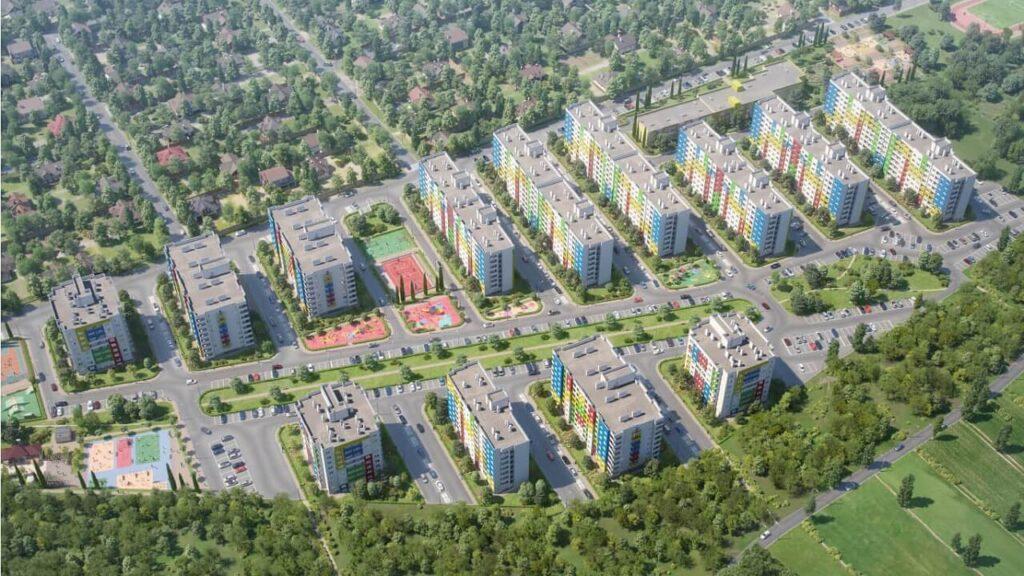 ЖК Спортивный парк Краснодар план