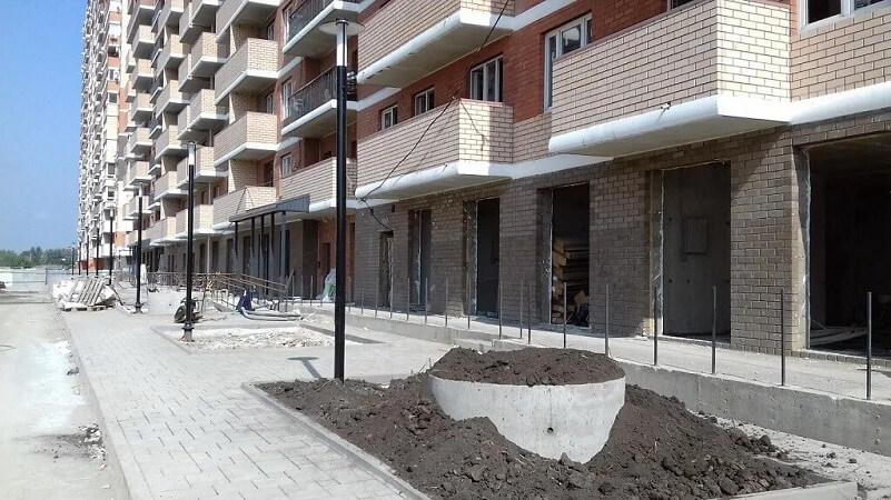 Фото хода строительства ЖК Ясный Литер 1
