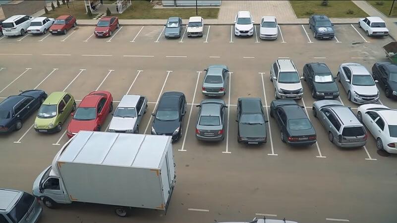 Парковочные места ЖК Мелодия от АСК