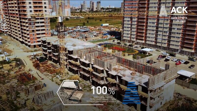 ЖК Мелодия ход строительства Краснодар