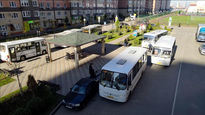 Автобусная остановка микрорайон Губернский ЖК Абрикосово