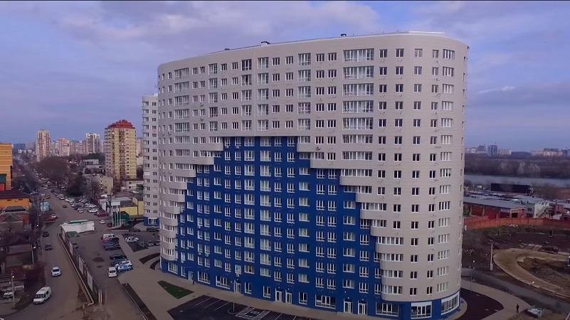 Фасад ЖК Фонтаны