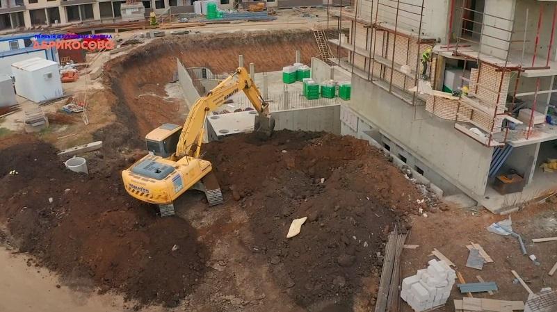 Ход строительства ноябрь 2020 ЖК Абрикосово