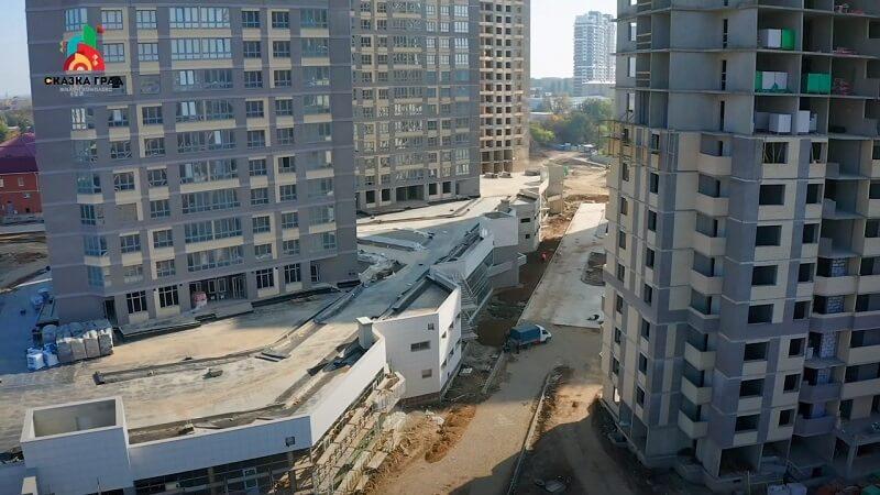 Ход строительства ЖК Сказка Град