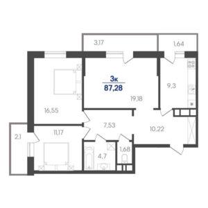 ЖК Белые росы купить квартиру 3 комнатную