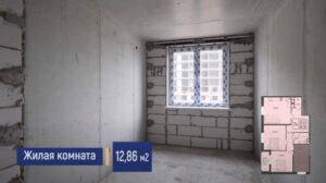 Фото жилой комнаты 12 м2