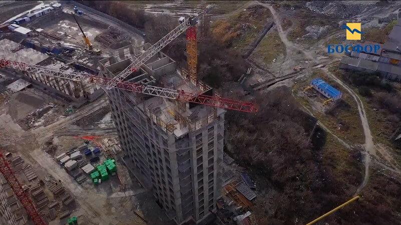 ЖК Босфор в Новороссийске фото