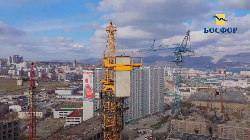 ЖК Босфор в Новороссийске ход строительства