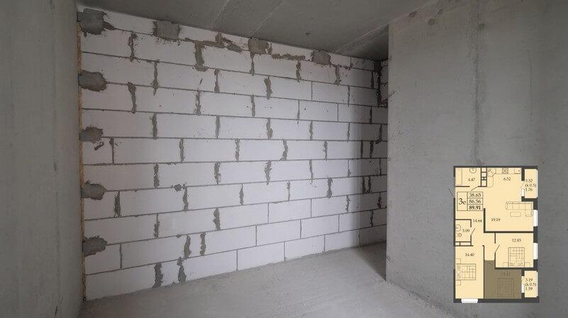 Планировка квартиры евротрешка фото